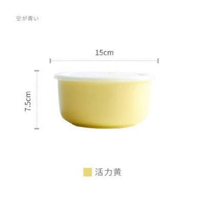 大号真空密封汤面碗 微波炉用陶瓷骨瓷碗 泡汤面密封保鲜盒