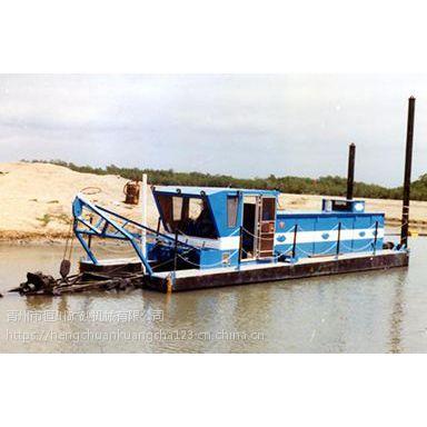 怀化抽沙清淤船 湖南远排距钻探式吸沙设备hc