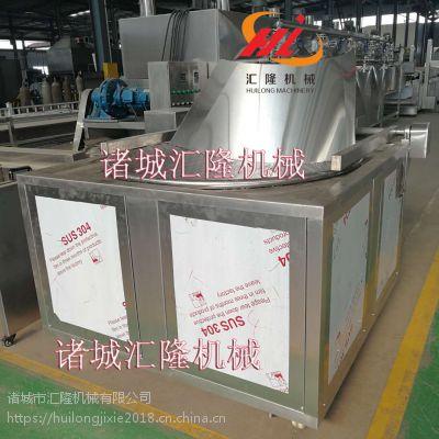 HL-1OOO面包虾油炸机设备厂家