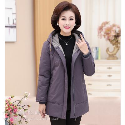 厂家直销新款小棉袄女式棉服批发广西北海冬季中款女装棉衣10-20元跑江湖