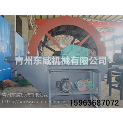 供应连云港地区河沙洗沙用设备 轮式洗沙机 水轮二次洗沙设备