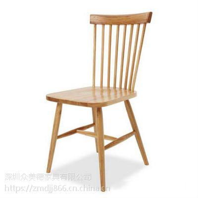 中高档北欧实木餐椅定做湘菜馆包房餐椅韩式椅子厂家供应