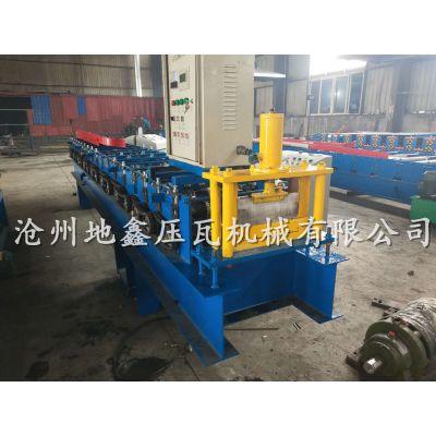 地鑫278围挡机 围挡板压型设备 彩钢围挡板生产线