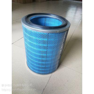耐高温除尘滤筒蓝色滤纸滤筒