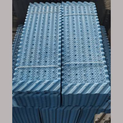 双一冷却塔分层变流组合式节能型淋水填料黑色点波1200/1300/1400mm 河北华强
