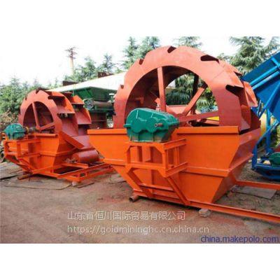 恒川河砂清洗机械 安徽水轮洗砂机