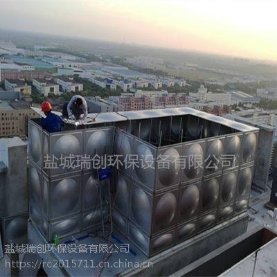 不锈钢水箱304模压板定做兰州生活用水组合式不锈钢拼装水箱型号齐全