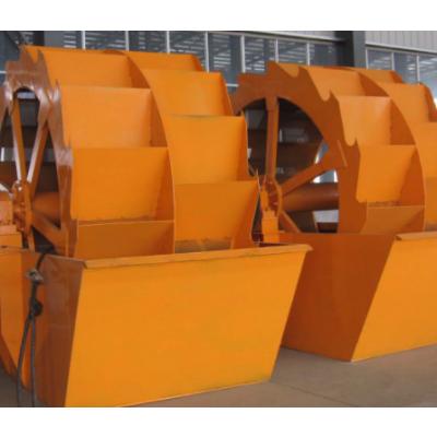 大连轮式洗砂机节约生产成本