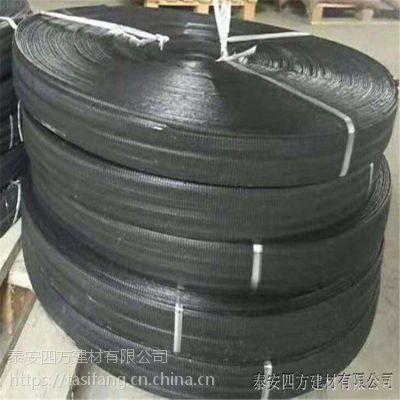 供应四方建材钢塑复合拉筋带厂家,钢塑土工加筋带定制