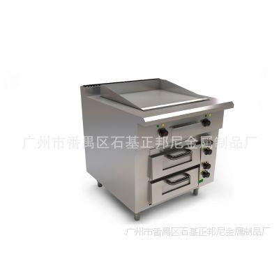 晋豪JGP-80电热扒炉下带焗炉 组合使用 豪华组合炉具系列