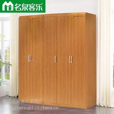 现代简约可定制三门1350*580*2200大连板式家具81002A三门两门衣柜