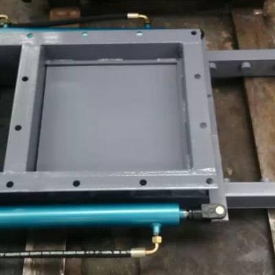 订做手动密封插板阀 DPZ型电液动平板闸门 耐磨推杆双杠平板闸阀