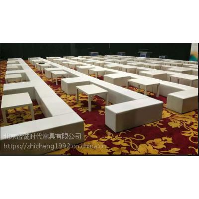 供应时装走秀沙发条租赁 白色沙发墩 北京沙发租赁