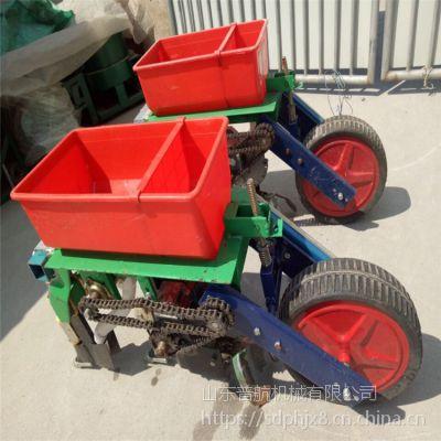 油菜辣椒谷子播种机 普航拖拉机带10行精播机视频 六行蔬菜种子播种机