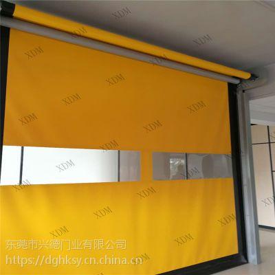 深圳力量型高速门安装及维修 冷链快速门