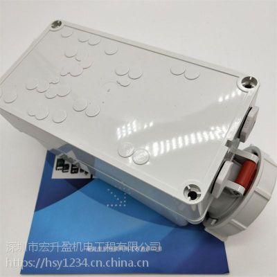实物德国MENNEKES/曼奈柯斯插座TYP5099A/32A带DUO-机械联锁价格好