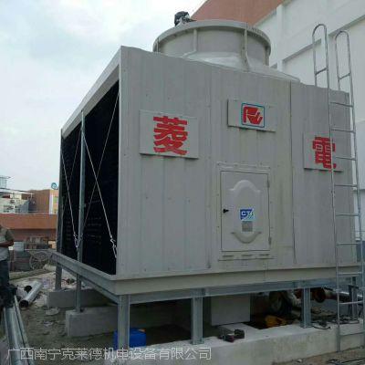 供应全新菱电低噪型自然通风湿式RT系列横流式方型冷却水塔