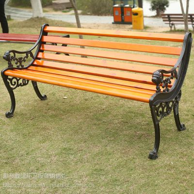 公园防腐木排椅户外休闲长椅批发
