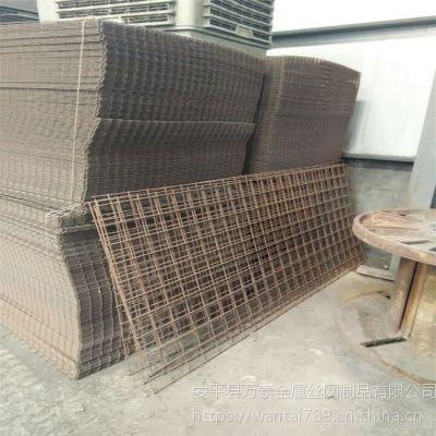 工业钢筋网片 电焊网片展览 黑丝地热网