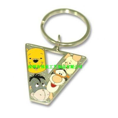 异形动漫珐琅钥匙扣,金属活动礼品,找江西钥匙扣制作厂