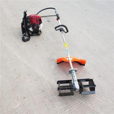 多功能手推式除草机 小型 轻便式锄草松土机