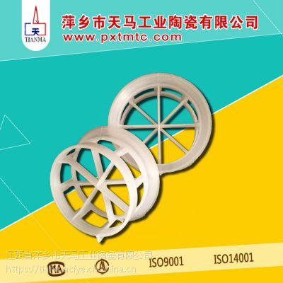 天马陶瓷反应塔/脱气塔/脱硫塔专用塑料阶梯环填料