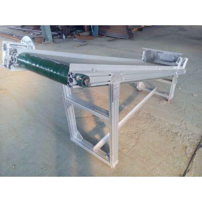 加工铝型材皮带机技术成熟滚筒式 食品专用输送机