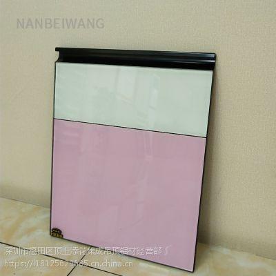 南北旺厂家橱柜材料 铝合金 晶钢门铝材 隐框 石材柜体橱柜