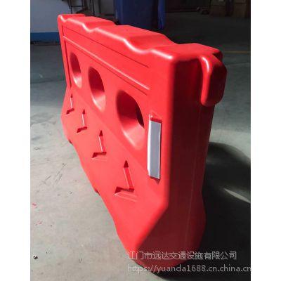 广东江门道路交通设施护栏 移动路障水马护栏 注水防撞优质水马围挡