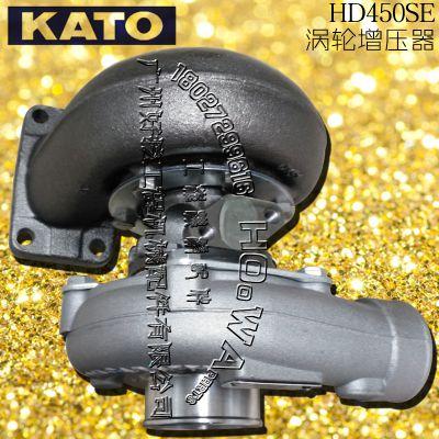 KATO/加藤HD450SE挖机涡轮增压器_加藤450SE增压器