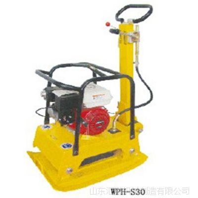 山东汇鹏柴油振动平板夯 汽油机平板夯 现货供应路面打夯机 汽油