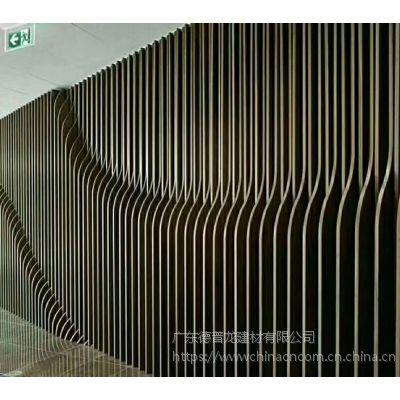 造型冲孔铝单板 弧形波浪铝单板 氟碳漆雕刻铝板定制厂家