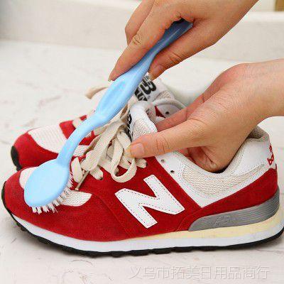 长柄清洁洗鞋刷 软毛球鞋刷鞋刷子洗鞋专用刷 洗衣刷去污渍清洁刷