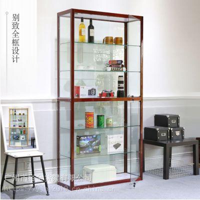 玻璃展示柜透明珠宝化妆品玻璃柜子手办模型产品礼品展示柜陈列柜