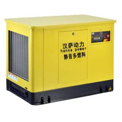 医院专用静音发电机20千瓦 三相20kw汽油发电机组