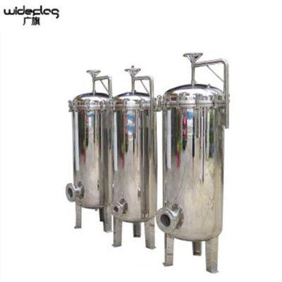 现货出售 台湾省拦截杂质颗粒袋式过滤器 不锈钢大流量布袋式过滤器 脉德净