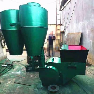 邦腾稻草秸秆粉碎机 自动进料多功能饲料粉碎机 养殖粉草机