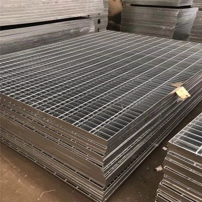 风道盖板 平台钢格板批发商 排水沟格栅盖板
