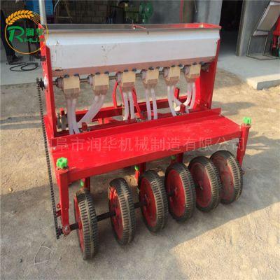 花生覆膜打药机 拖拉机带谷子播种机 小麦施肥播种机