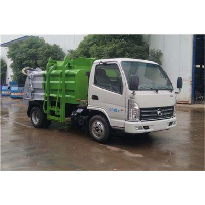 工厂3吨厨余垃圾车,江铃3吨餐饮垃圾车,不带推铲多少钱