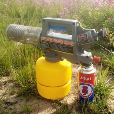 热销便携式农用打药机志成户外摄影烟雾制造机 养殖场消毒设备