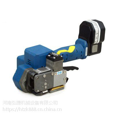 弘捷塑钢带电动打包机-打包机生产厂家