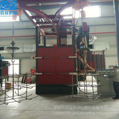 大型吊钩式抛丸机 铸件铝件抛丸机 供应重型工件去污除锈抛丸机