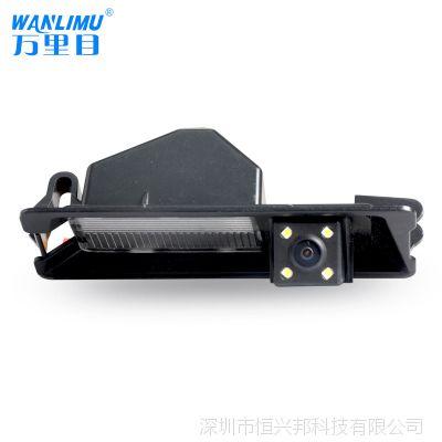 10款日产玛弛专用CCD高清led灯摄像头 汽车防水夜视后视倒车影像