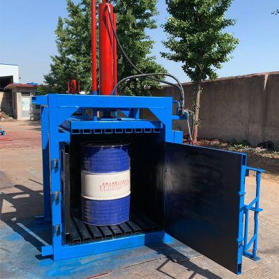 现货立式液压打包机 塑料瓶薄膜打包机 塑料油漆桶压块机