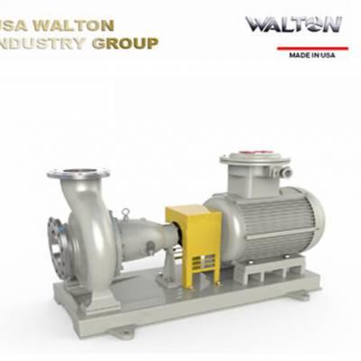 进口卧式单级单吸管道离心泵 美国WALTON沃尔顿