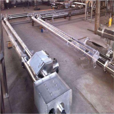 专业定制链板输送机费用直销 倾斜管链输送机
