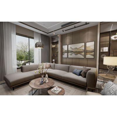 约克郡装修设计,约克郡高层洋房别墅全案设计户型改造方案分享