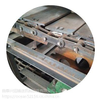 纯净水连续式链板输送机厂家 链板输送机非标定制