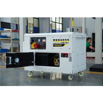 大泽动力15千瓦静音柴油发电机结构